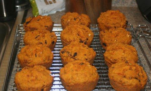 Natasha's Carrot Muffins