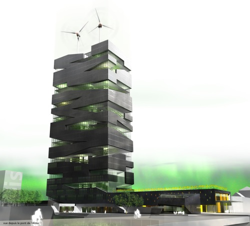 The Living Tower by SOA Architects